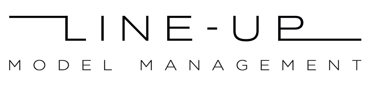 Line-up model management logo